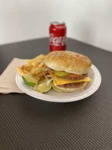 Cheese burger, double-cheese burger, super grill menu, chicken burgers